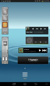 AudioBar Media Volume Widget