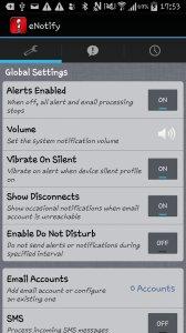 eNotify Lite Alerts