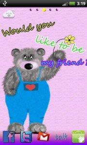 GO Launcher EX Teddy bears