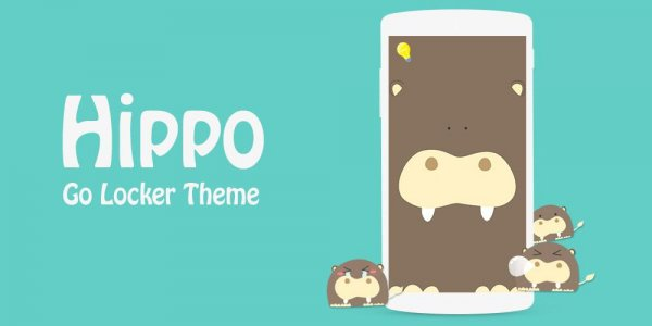 GO Locker Hippo Theme