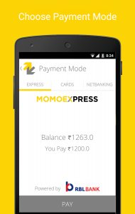 Momoe - Mobile payments