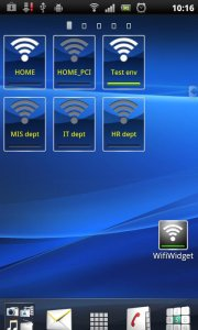 Multi Wifi Widget