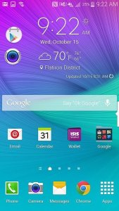 Launcher Theme - Galaxy Note 6