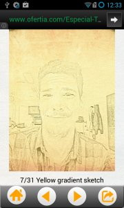 Photo Sketch Cartoon Portrait