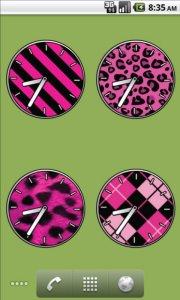 Pink Clocks - FREE