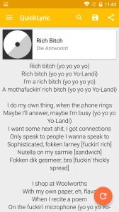 QuickLyric - Instant Lyrics