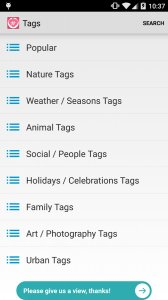 Tags for Likes for Instagram