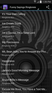 Top Funny Sayings Ringtones