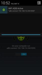 WiFi ADB - Debug Over Air