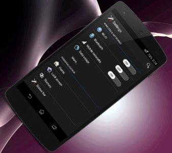Z2-CM 11/MAHDI Black Theme Android App APK (com vivek xperia