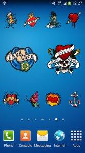50 Tattoo Stickers