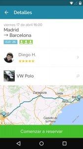 Amovens ridesharing/car rental