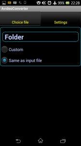 Video converter mp4 Aencoder