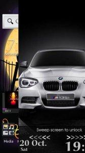 BMW Lockscreen Theme