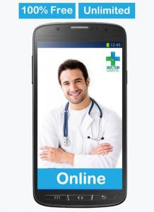 Doctor Gratis, Free Medical Consultation and chat