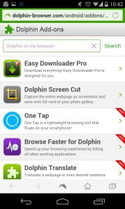 Dolphin Browser - Fast, Private & Adblock?