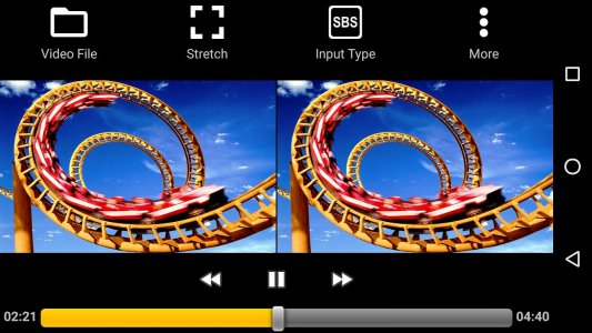 iPlay VR Player for SBS 3D Video