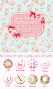 Love Song GO Launcher Theme