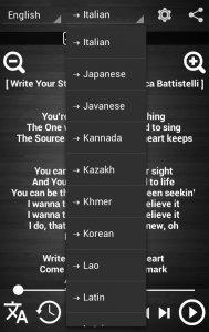 Lyrics Translator