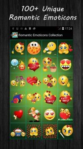 Romantic Emoticons - Romantic Stickers
