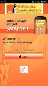 Syndicate Bank - SyndMobile