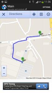Track Location & Car
