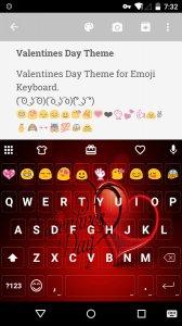 Valentines Day Emoji Keyboard