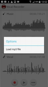 Vocal Recorder TwoTrack Studio