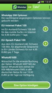 WhatsApp SIM