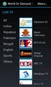 World On Demand TV