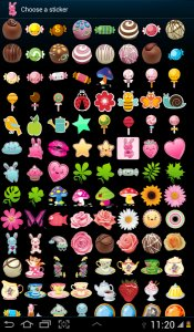100 Cute Girly Stickers ^_^