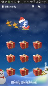 MerryChristmas AppLock Theme