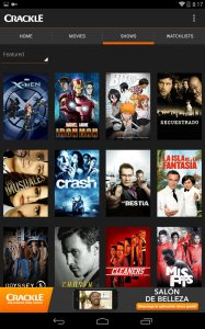 Crackle - Free TV & Movies Android App APK (com gotv crackle