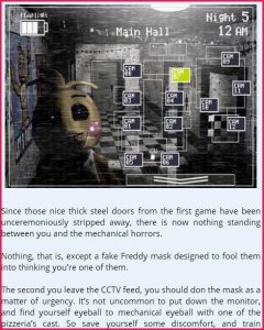 FNAF Five Night Guide