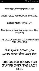 Fonts for FlipFont #18