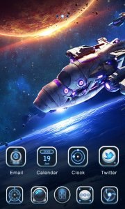 (FREE)Galaxy GO Launcher Theme