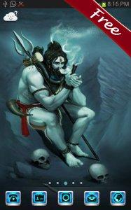 God Shiva Go Launcher Theme