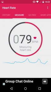 Runtastic Heart Rate Monitor & Pulse Checker