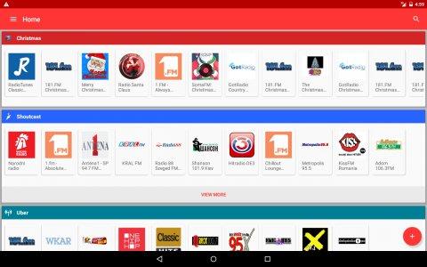 Internet Radio Player - Shoutcast Android App APK (com media