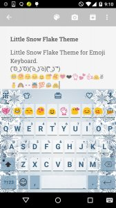 Little Snow Flake Keyboard