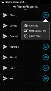 MyPhone Ringtones