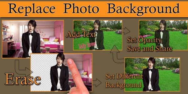Auto Photo Background Changer