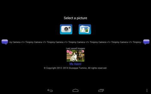Tinipiny Camera (text bubbles)