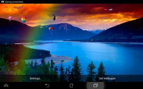 منظر للطبيعة خلفية لايف Android التطبيق Apk Com