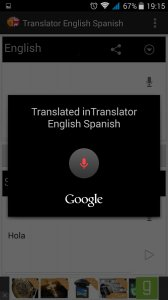 Translator English to Spanish