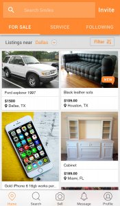 5miles: Buy and Sell Used Stuff Locally