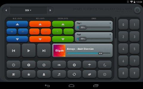 AnyMote Universal Remote + WiFi Smart Home Control