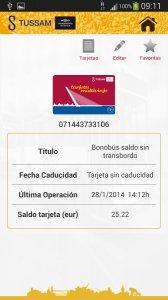 AppTUSSAM Android App APK (com geoactio tussam) by GeoActio