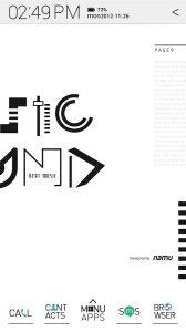 Typo White atom theme