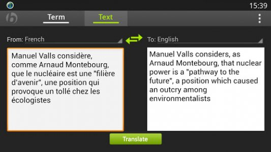 Babylon Translator Android App APK (com babylon translator) by